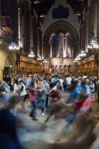 Ceilidh in the University Chapel